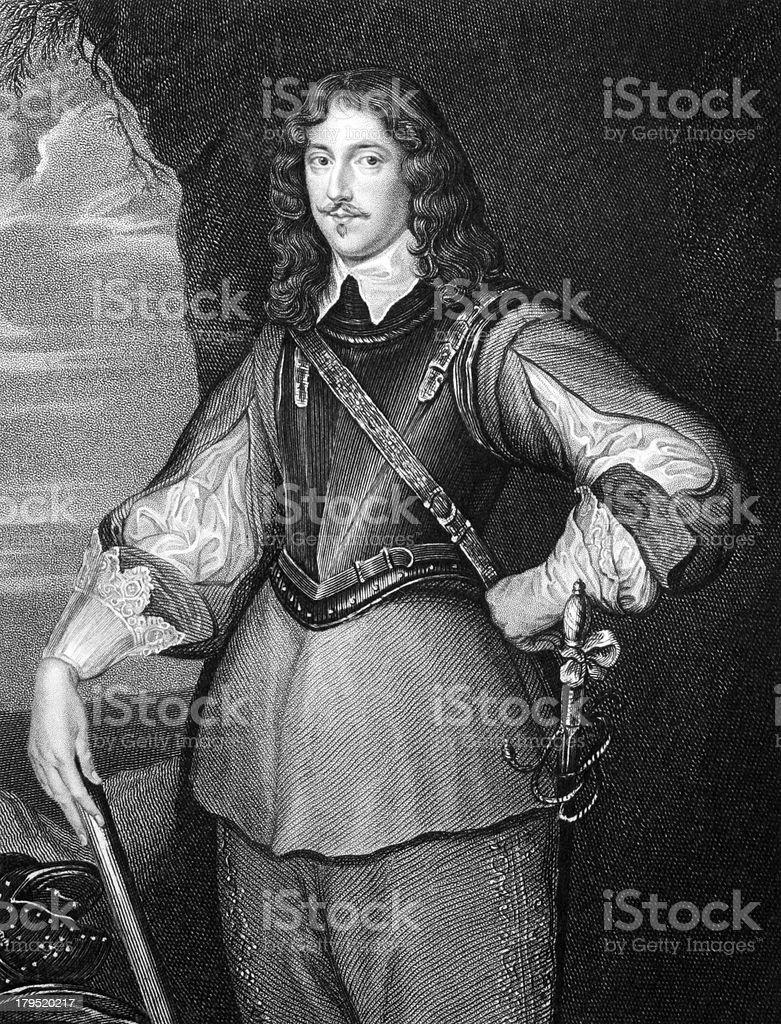 Montagu Bertie, 2nd Earl of Lindsey royalty-free stock vector art