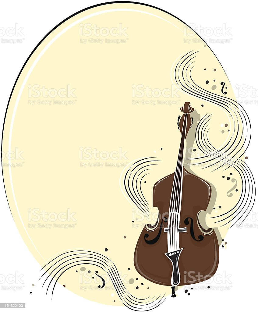 Moonlight Music royalty-free stock vector art