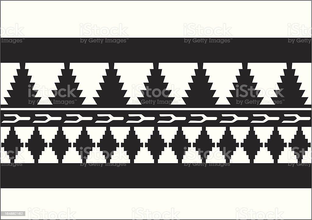 Moorish Styles 3 vector art illustration