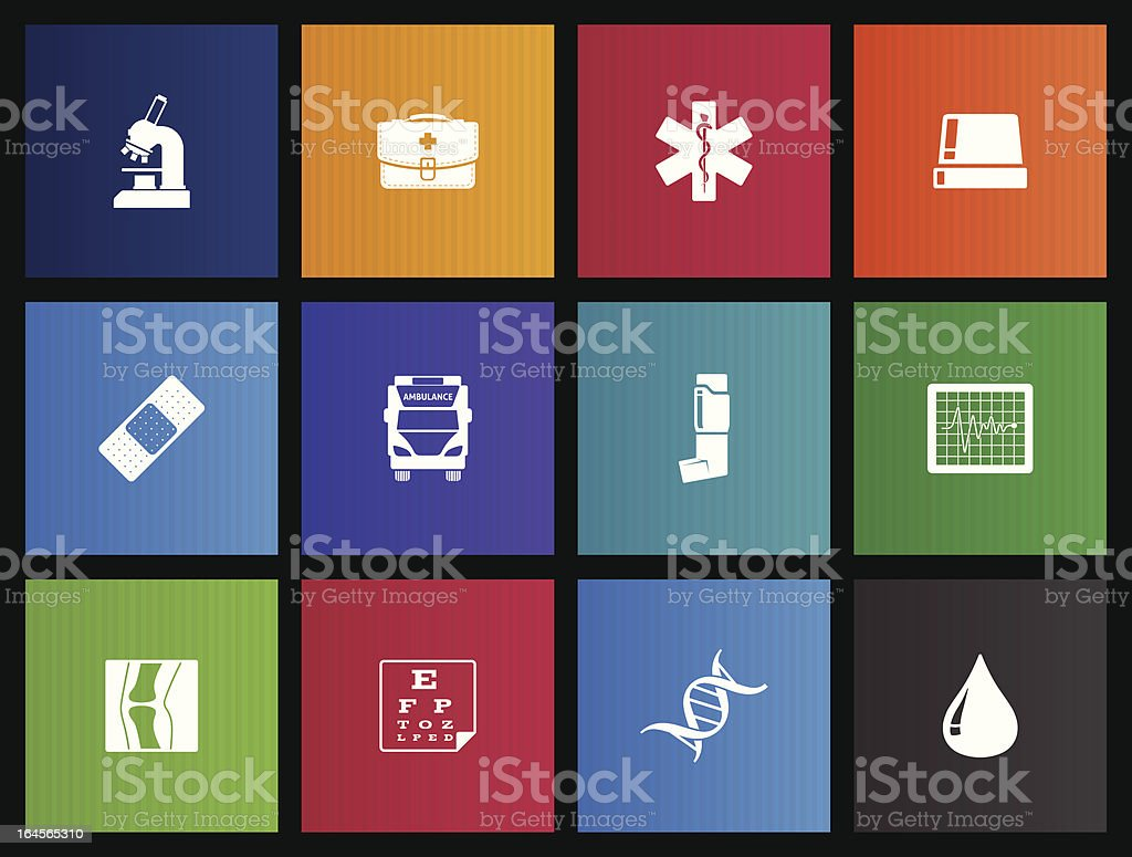 More Medical Icons royalty-free stock vector art
