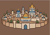Mosaic of Jerusalem