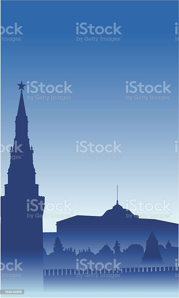 Moskow royalty-free stock vector art