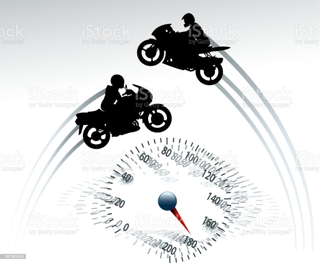 motorcycle backround royalty-free stock vector art