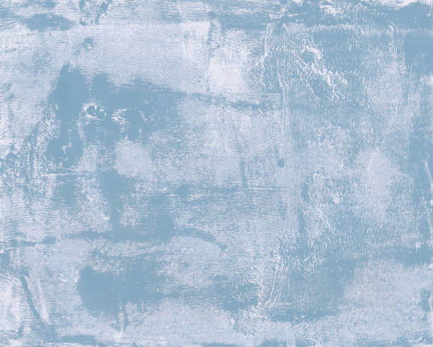 A Faded Blue Water Color Abstract Background Clip Art, Vector