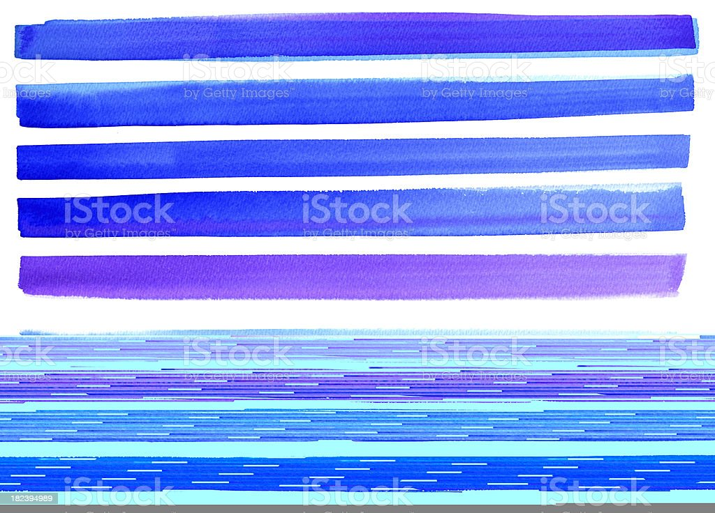 Multicolor lines royalty-free stock vector art