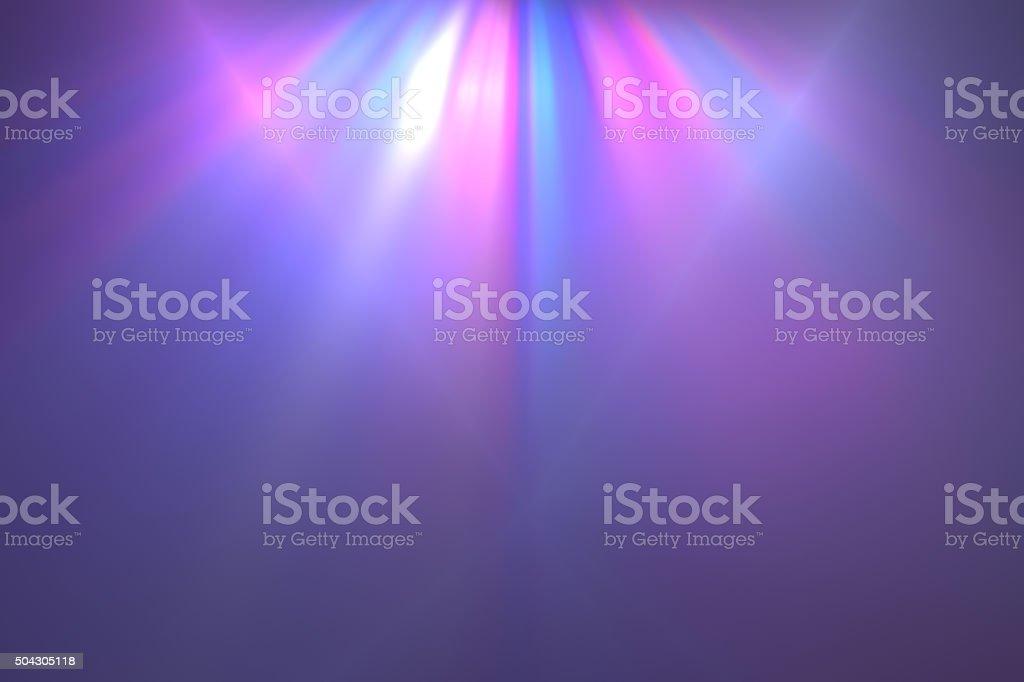 multicolored beams of light vector art illustration