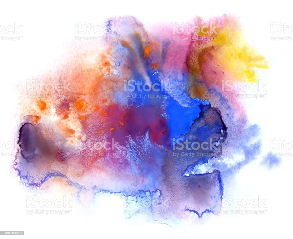 Multicolored Stain royalty-free stock vector art