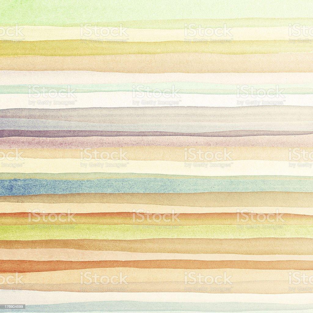 A multicolored watercolor background vector art illustration