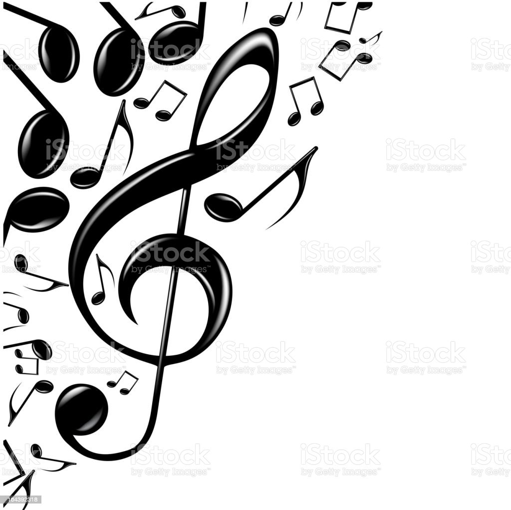 Music Background. royalty-free stock vector art
