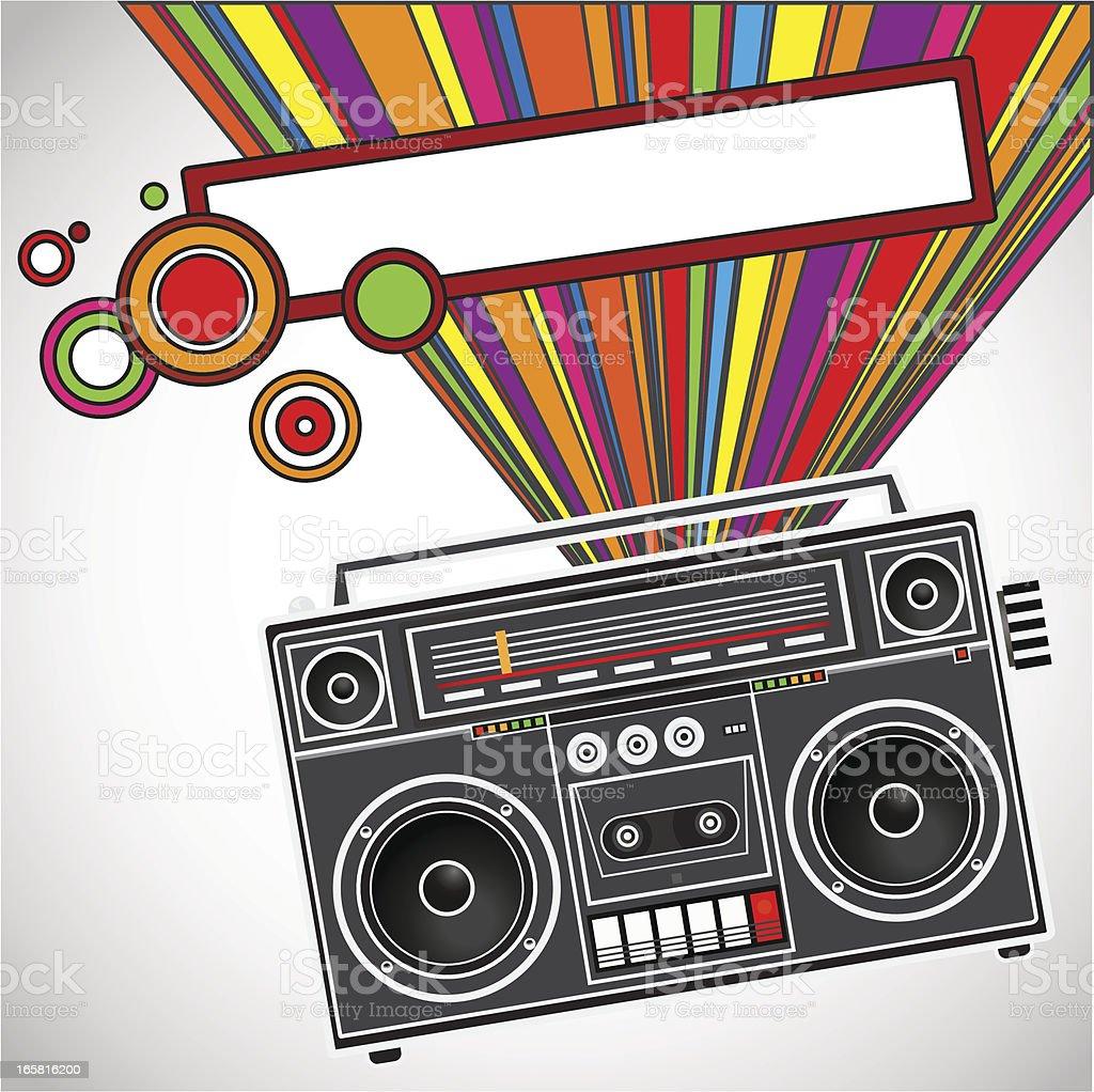 Music Composition vector art illustration