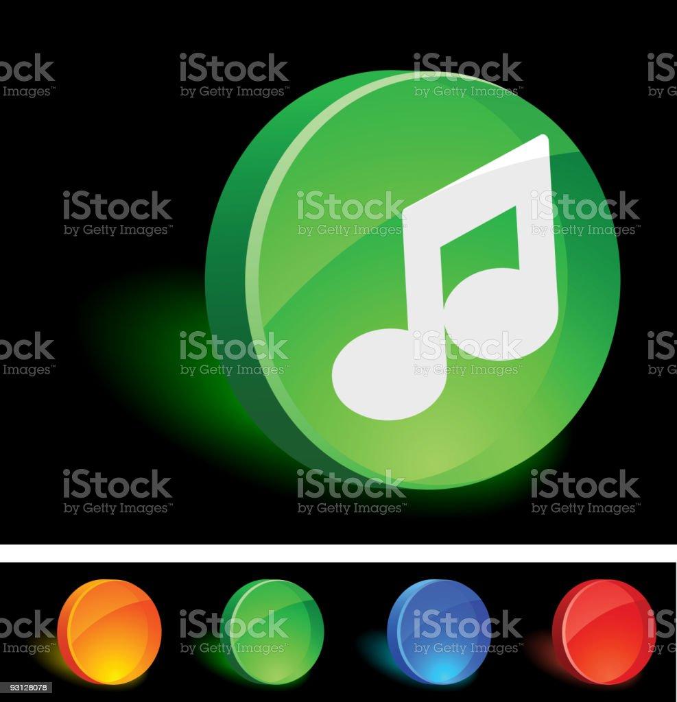 Music Icon royalty-free stock vector art