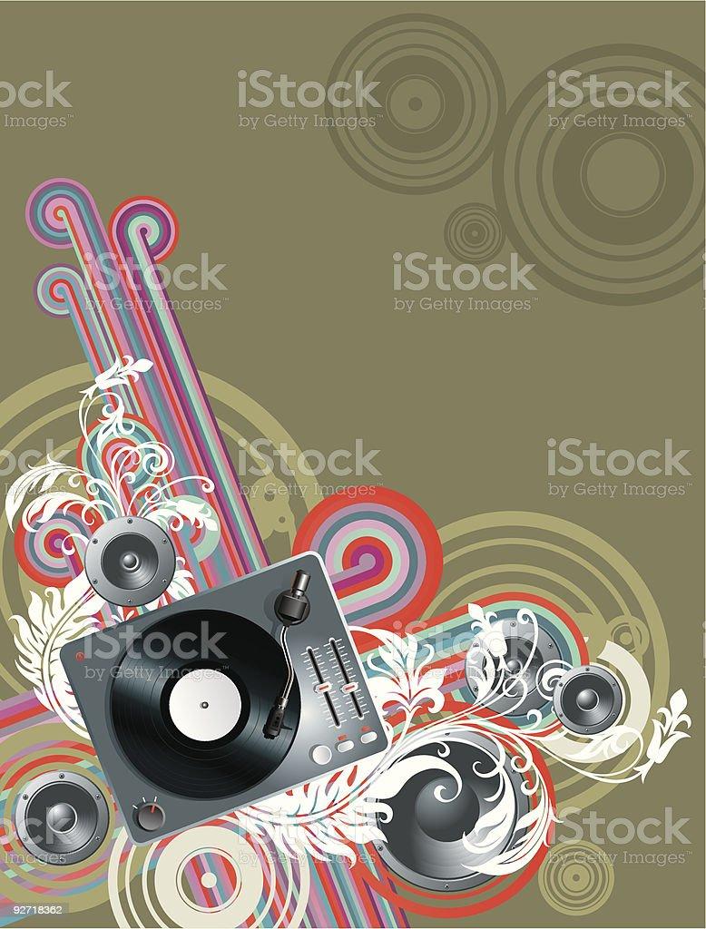 musical flyer royalty-free stock vector art