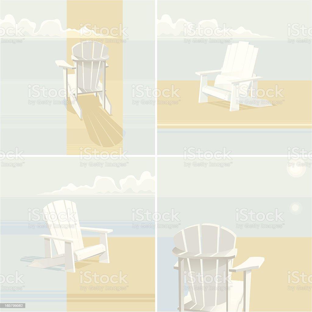 Muskoka Set vector art illustration