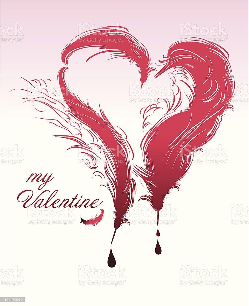 My Valentine royalty-free stock vector art