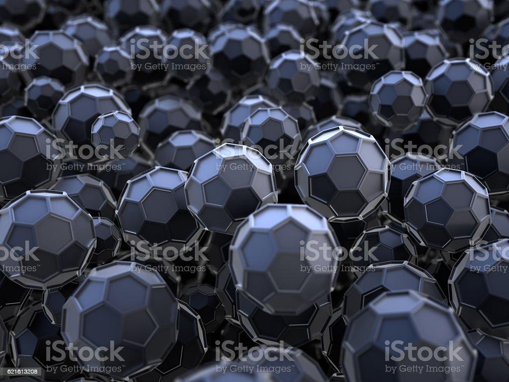 nanotechnology vector art illustration