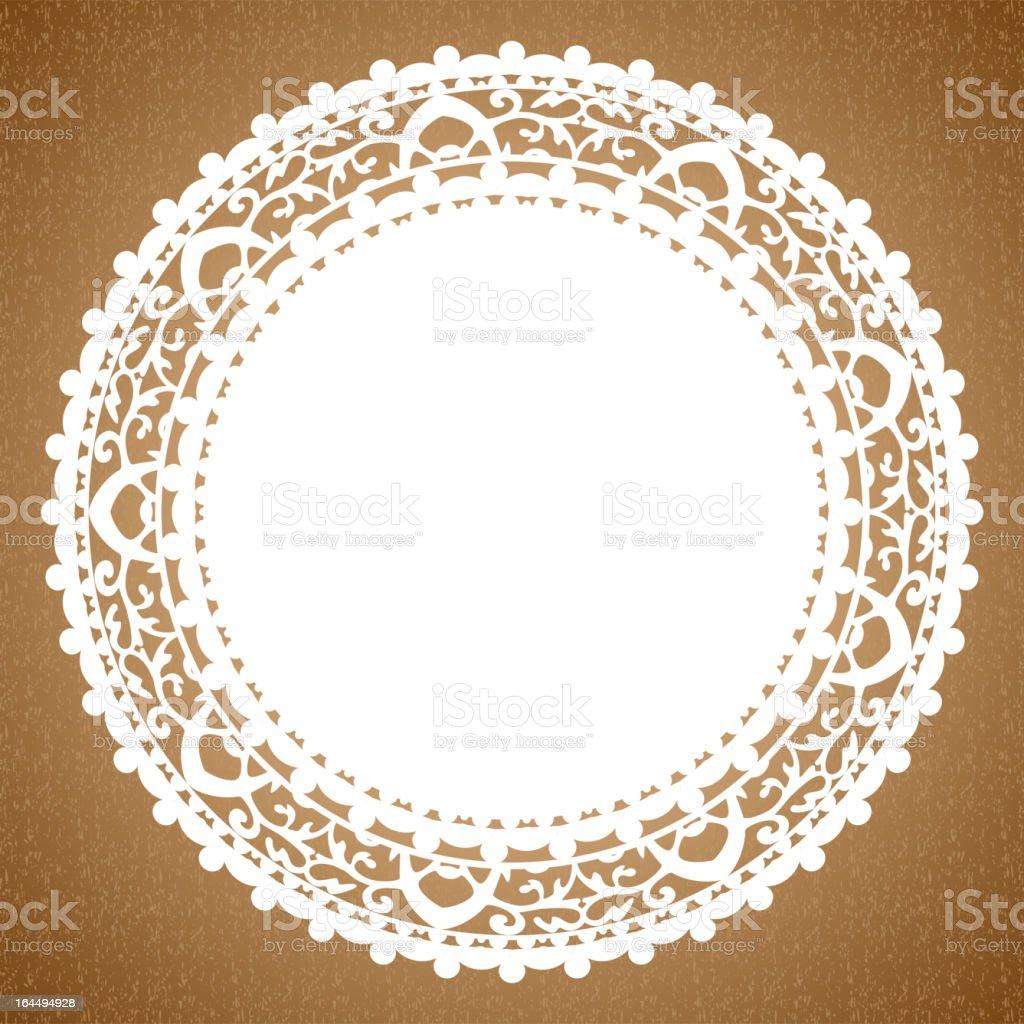 napkin vector art illustration