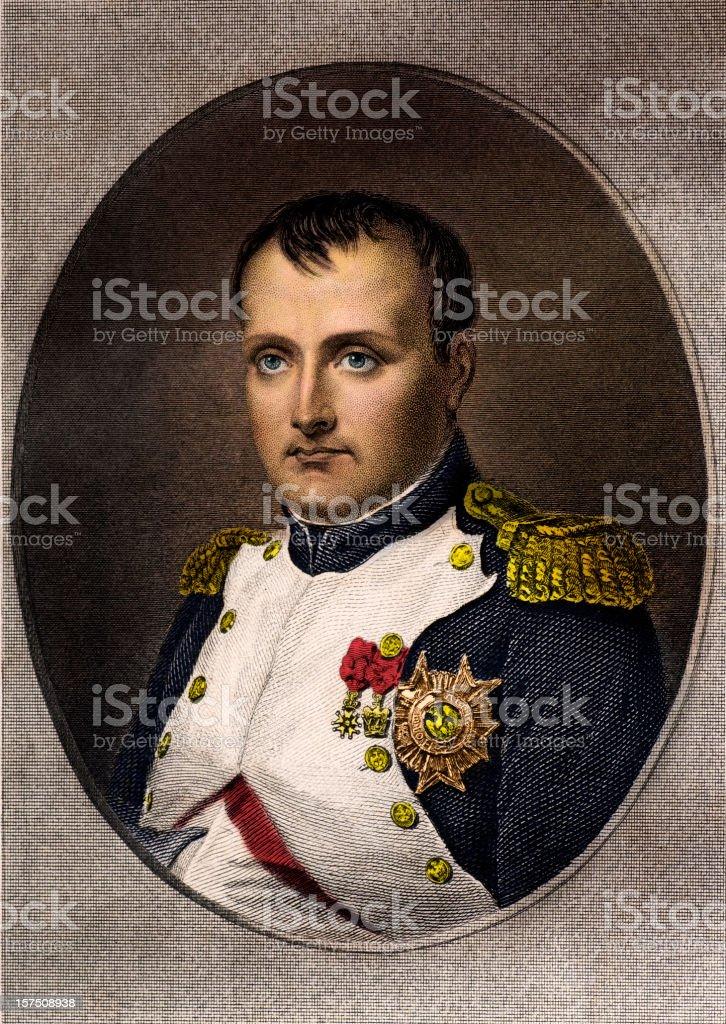 Napolean Bonaparte vector art illustration