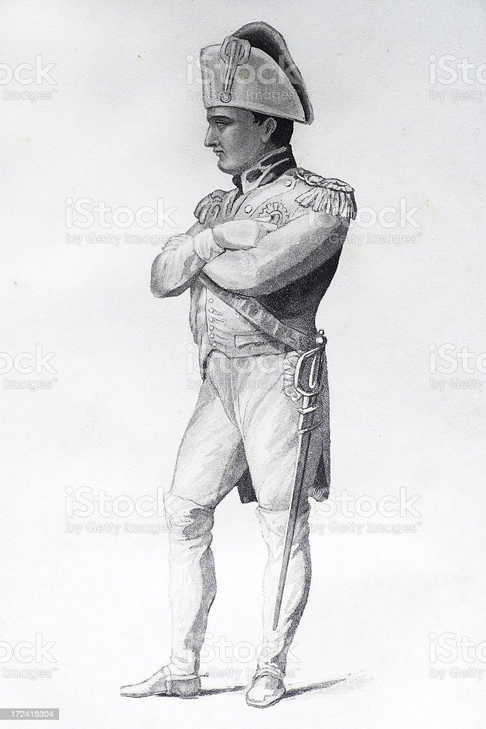 Napolean Bonaparte royalty-free stock vector art