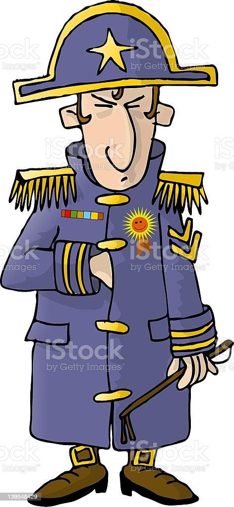 Napolean royalty-free stock vector art