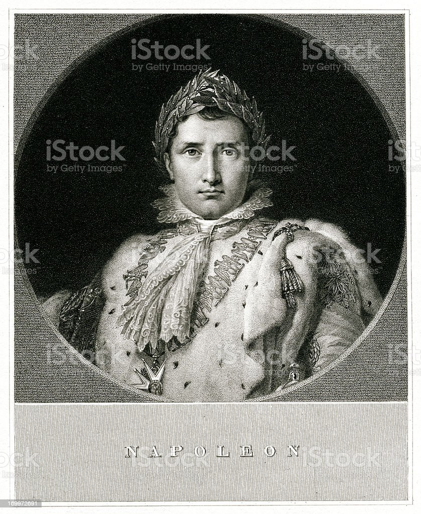 Napoleon Bonaparte royalty-free stock vector art