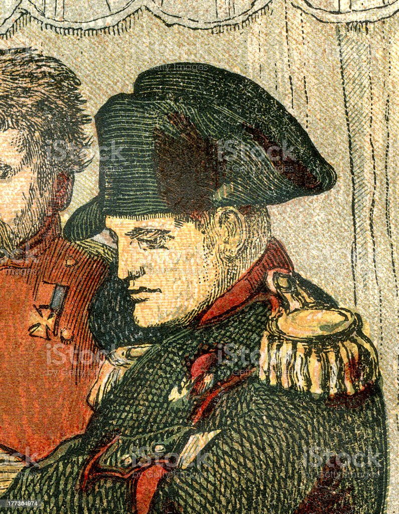 Napoleon Bonaparte vector art illustration