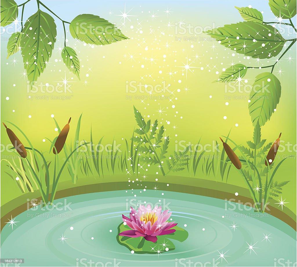 natural fresh water royalty-free stock vector art