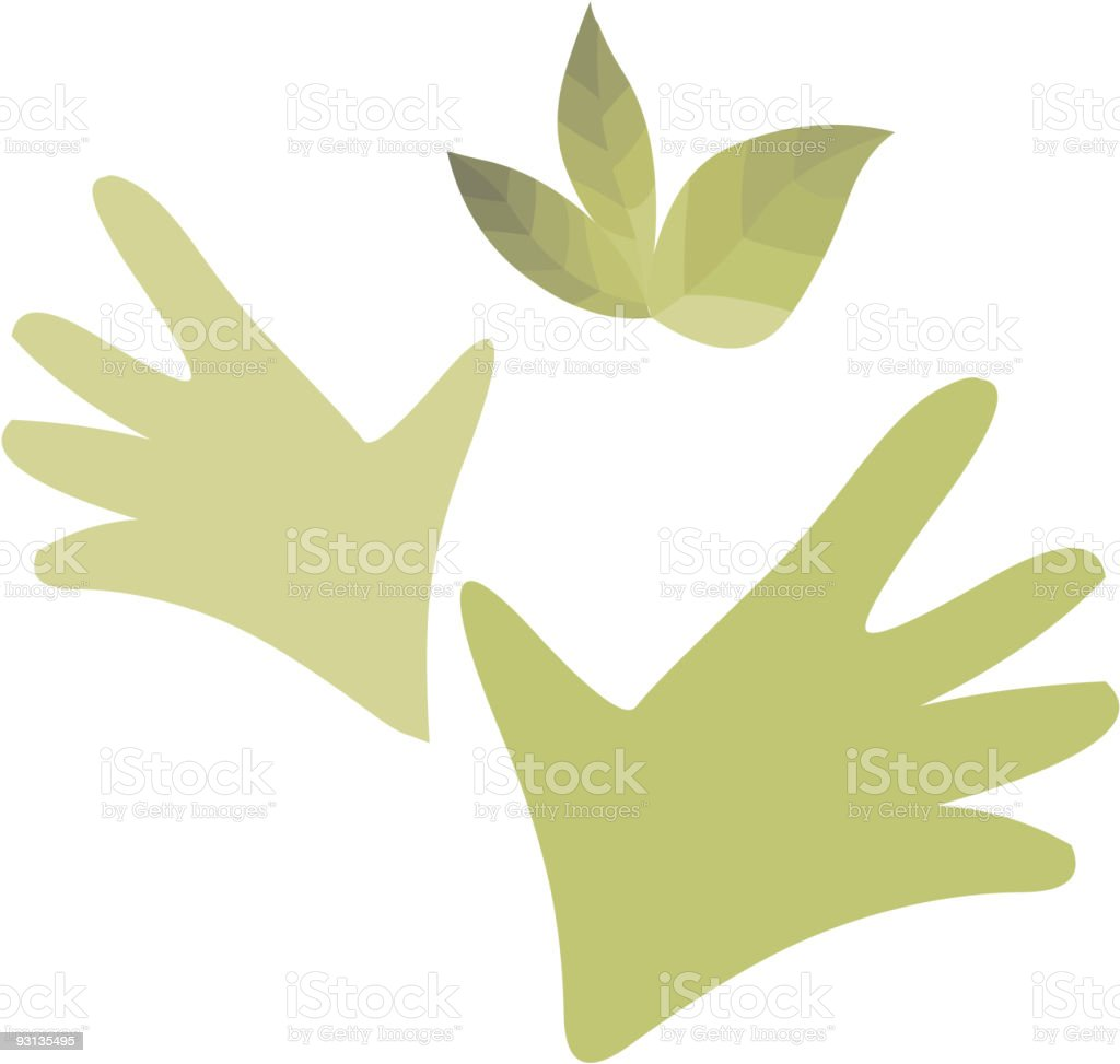 Nature and green royalty-free stock vector art
