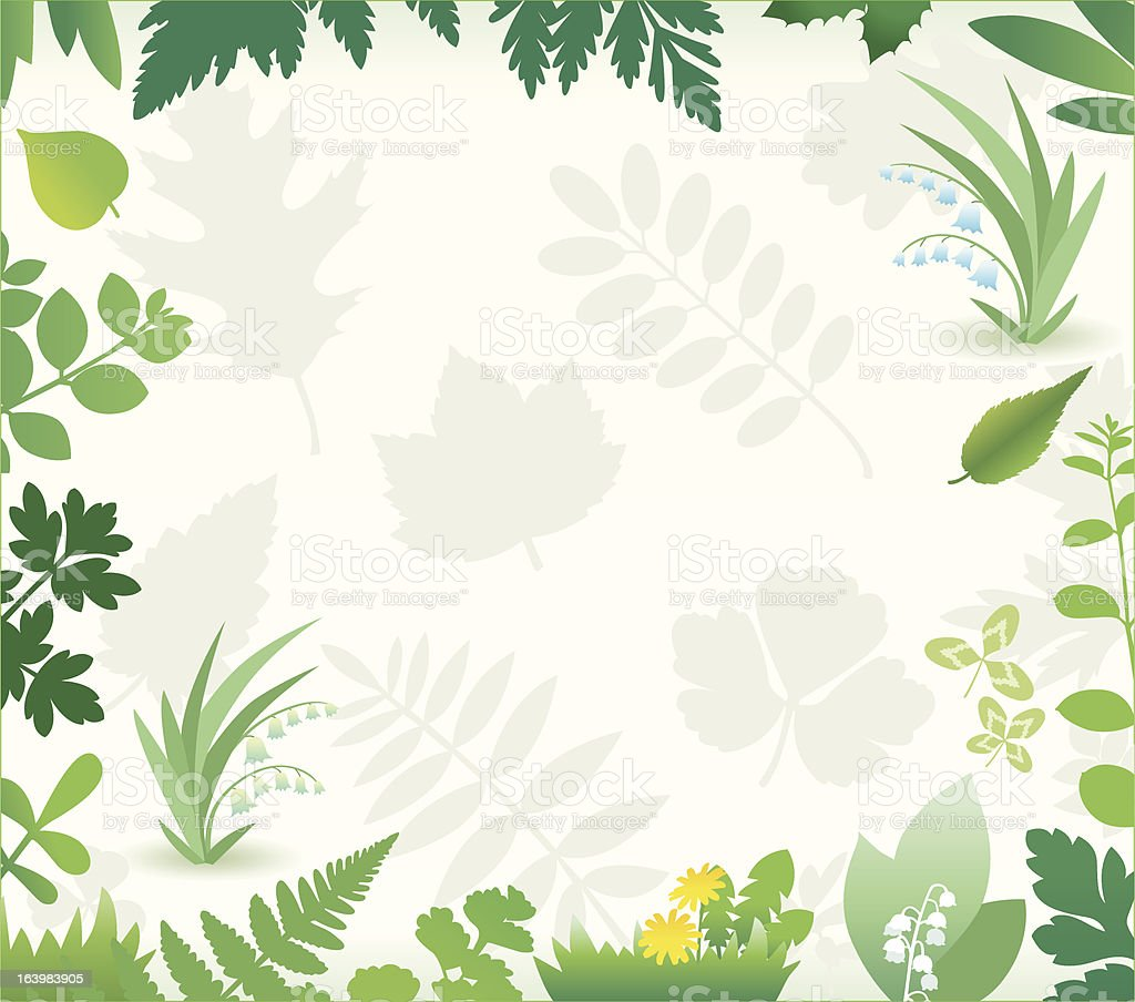 nature background. royalty-free stock vector art