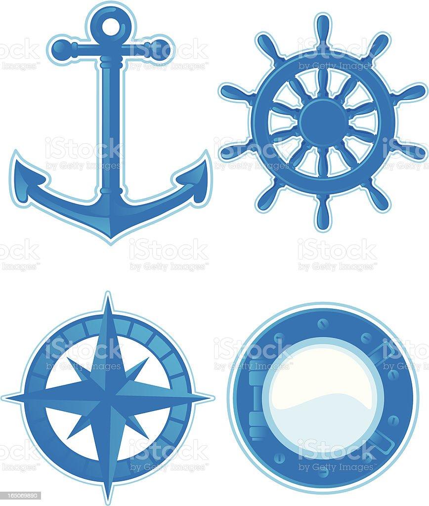 navy tattoos royalty-free stock vector art