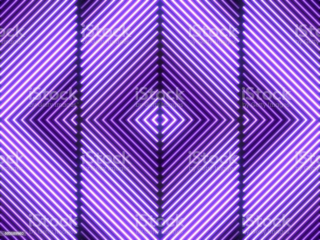 Neon Light Stage Wall Background vector art illustration