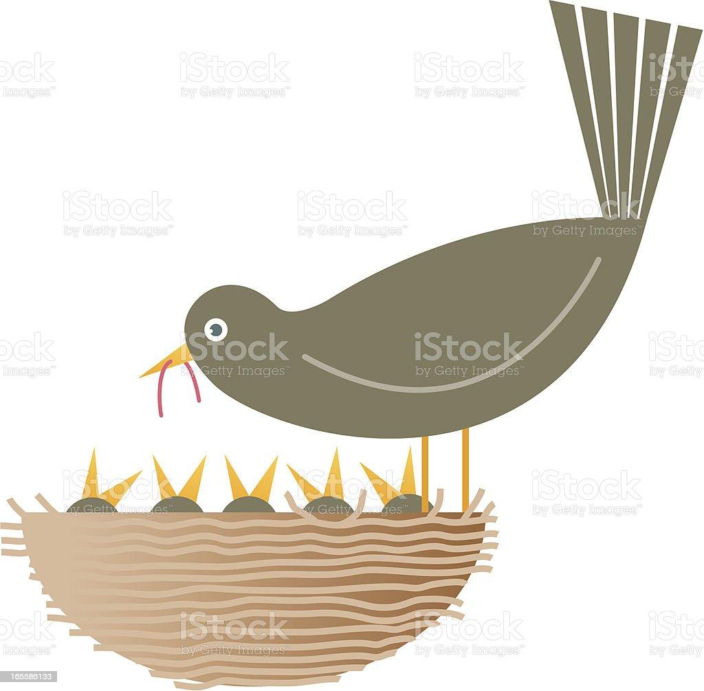 Nest royalty-free stock vector art