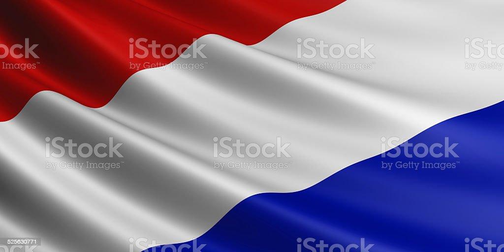 Netherlands flag. royalty-free stock vector art