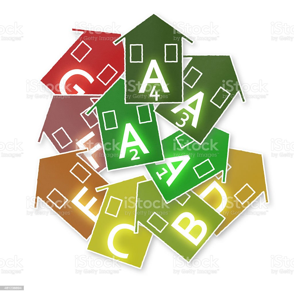 New european laws in concerning energy efficiency vector art illustration