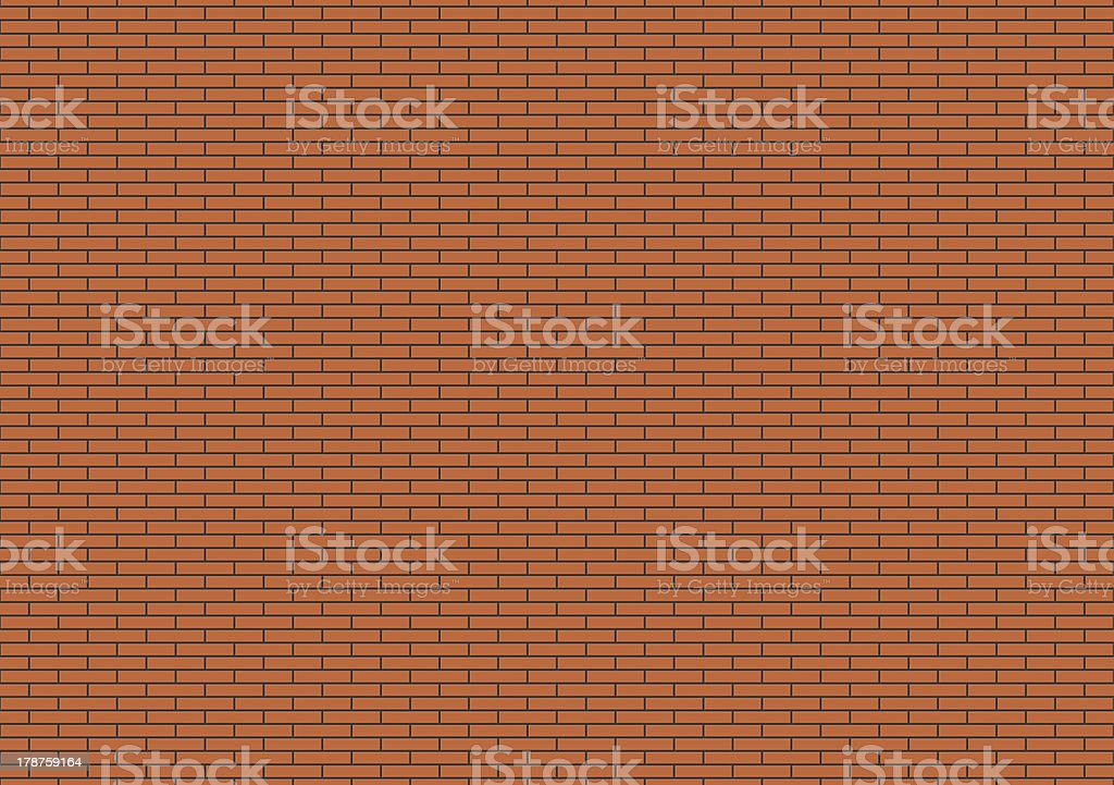 new red brick wall royalty-free stock vector art