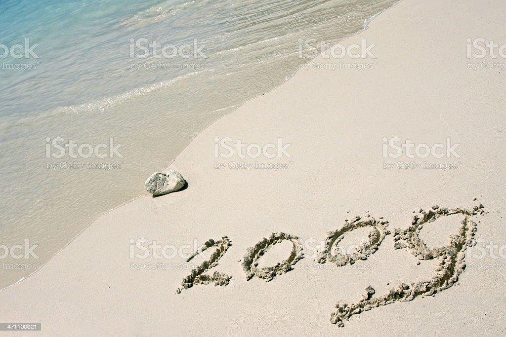New year 2009 # 7 vector art illustration