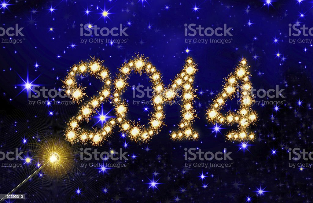 New Year sky background. royalty-free stock vector art
