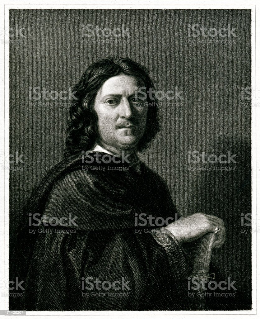 Nicolas Poussin royalty-free stock vector art
