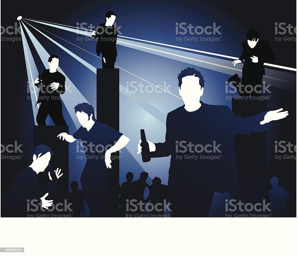 Night Club royalty-free stock vector art