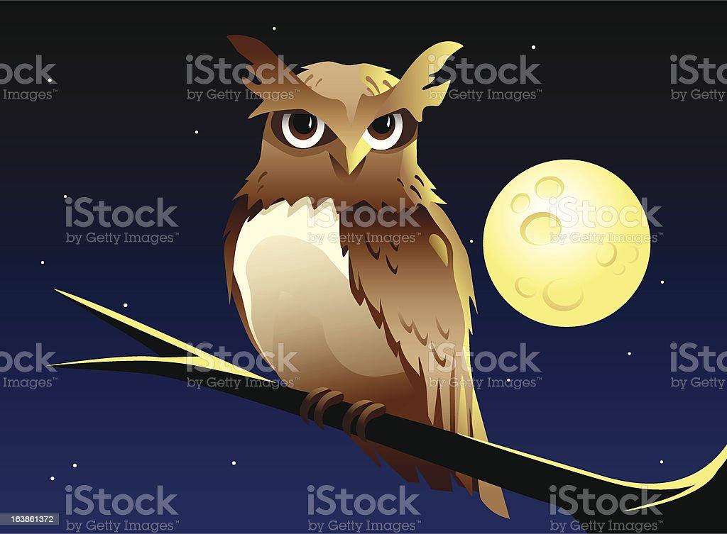 Nachtschwärmer Lizenzfreies vektor illustration