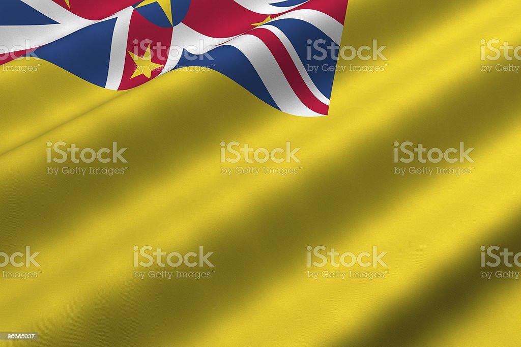 Niue Flag vector art illustration
