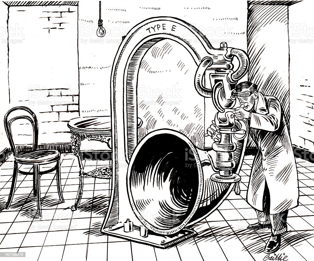 Nose Tubal Player vector art illustration