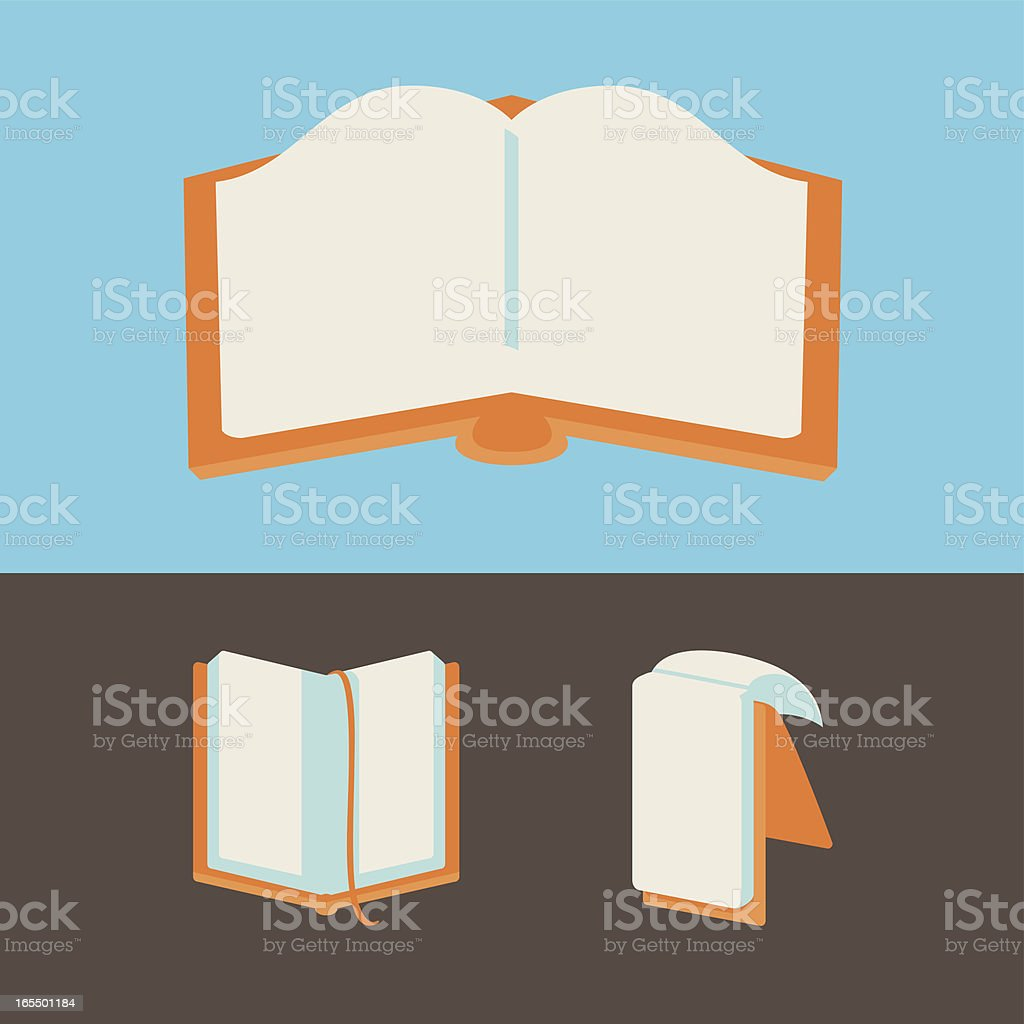 Notebooks vector art illustration