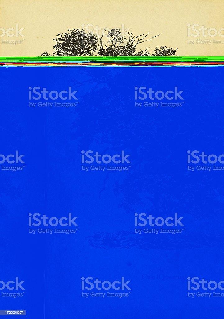 Oak tree royalty-free stock vector art