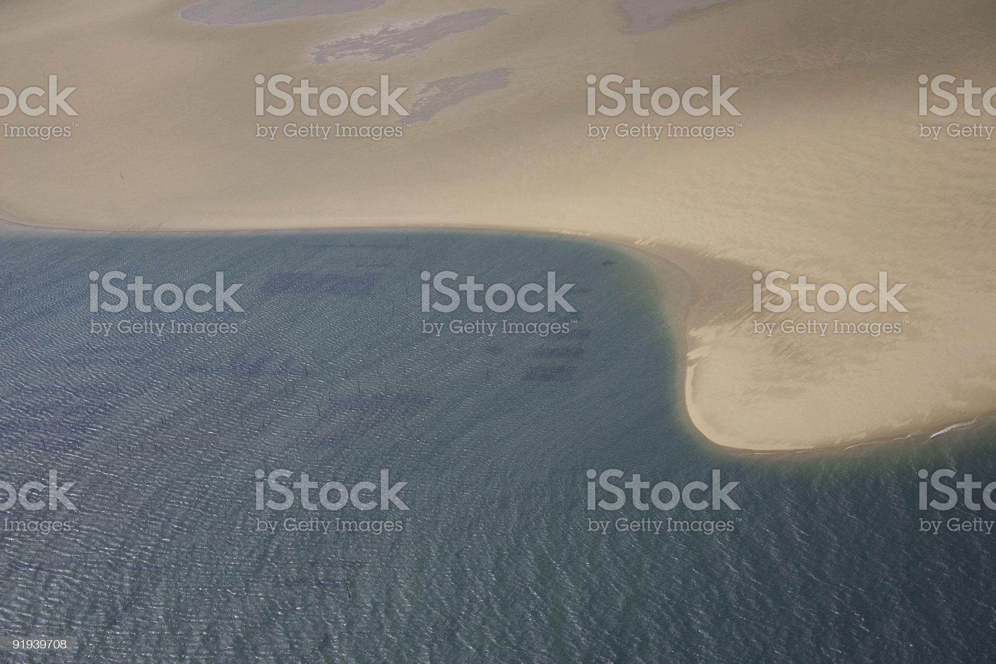 Ocean beach royalty-free stock vector art