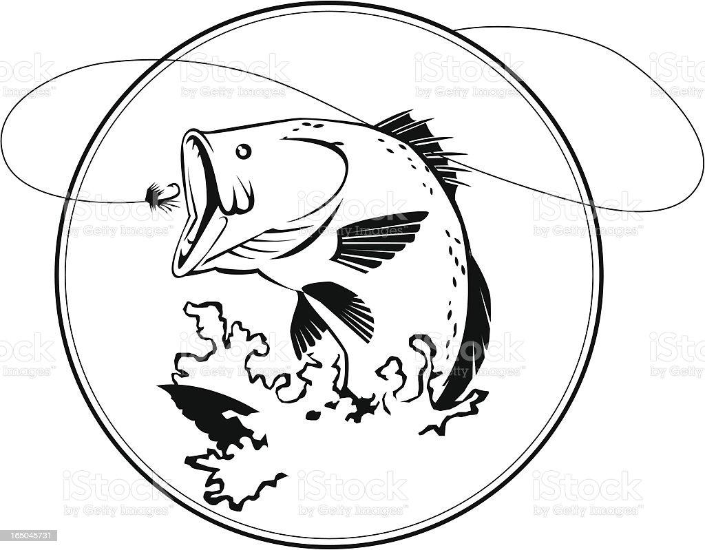 off the hook vector art illustration
