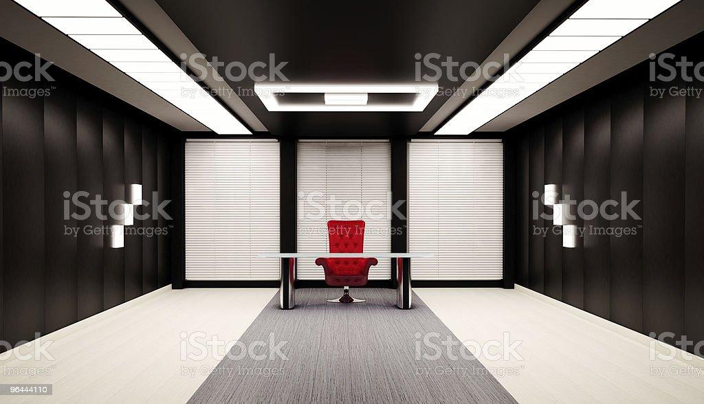 Office interior 3d royalty-free stock vector art