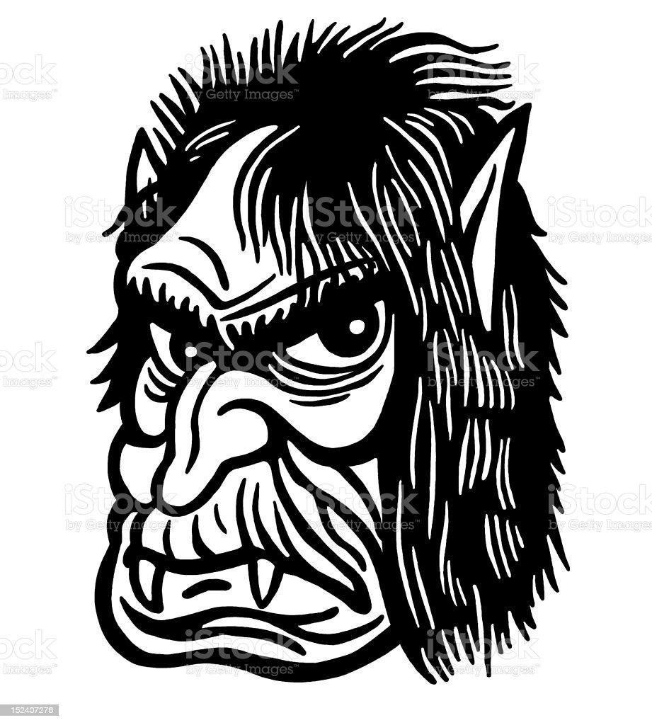 Ogre royalty-free stock vector art