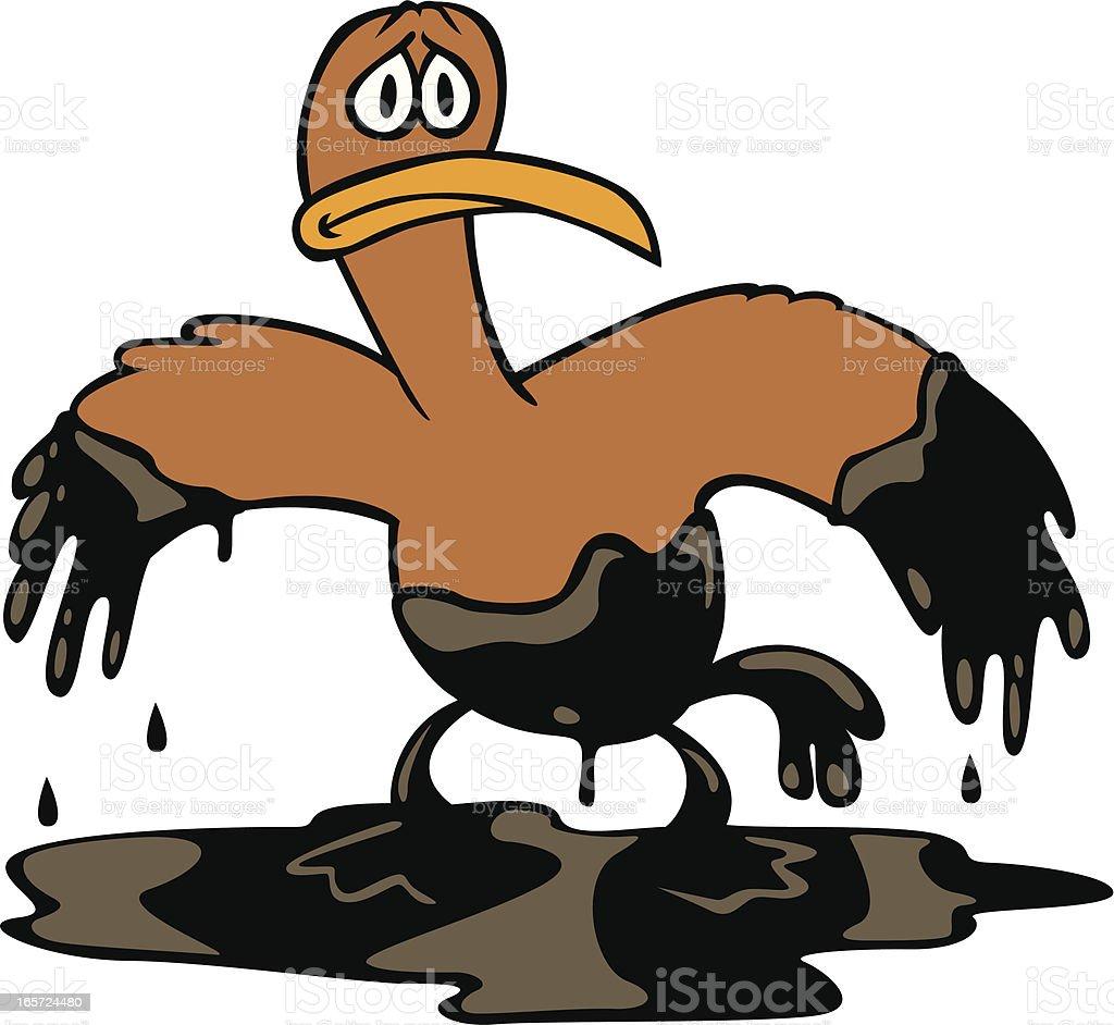 oil bird royalty-free stock vector art
