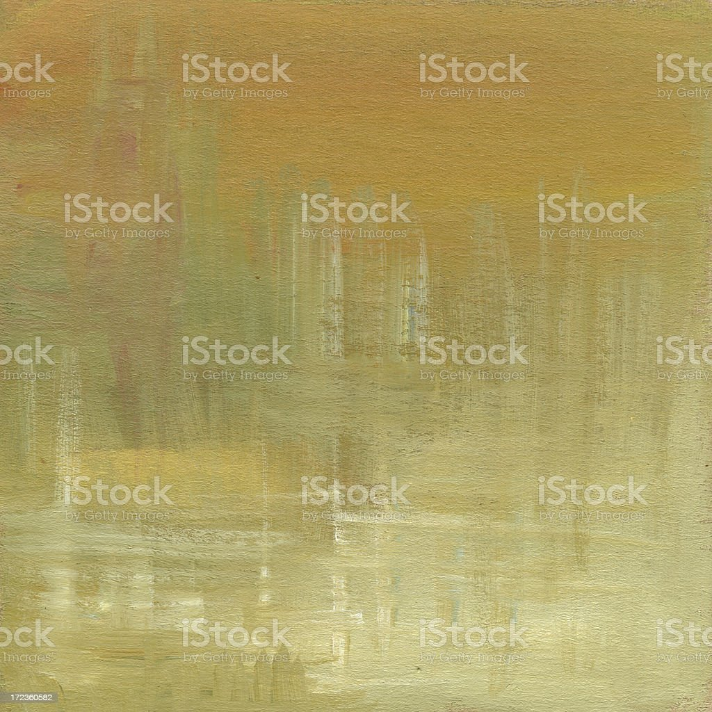 Oil Painted Abstract Background royalty-free stock vector art