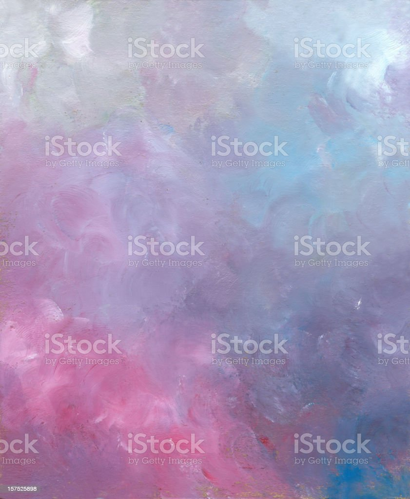 Oil Painted abstract Background in Pastel Colors royalty-free stock vector art